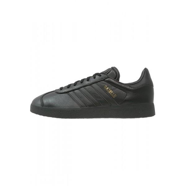 Damen / Herren Adidas Originals GAZELLE - Laufschuhe Low - Anthrazit Schwarz/Core Black/Gold Metallic