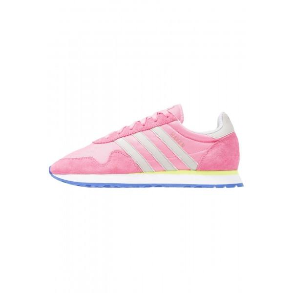 Damen / Herren Adidas Originals HAVEN - Sportschuhe Low - Pfirsich Rosa/Klar Granit/Neon Gelb/Solar Gelb