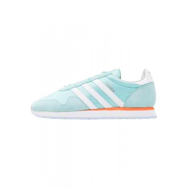 Damen / Herren Adidas Originals HAVEN - Trainingsschuhe Low - Mintblau/Weiß/Mango Orange