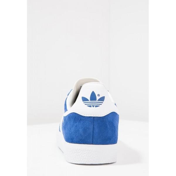 Damen / Herren Adidas Originals GAZELLE - Sportschuhe Low - Collegiate Royal/Euro Blau/Weiß/Gold Metallic
