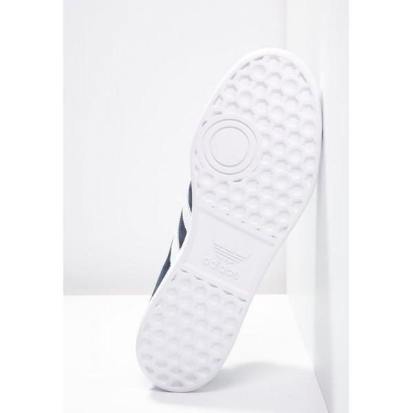 Damen / Herren Adidas Originals HAMBURG - Freizeitschuhe Sport Low - Dunkelmarine/Tiefblau/Weiß/Gold Metallic
