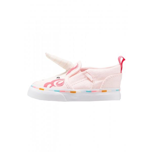 Kinder Vans ASHER - Laufschuhe Low - Rosa/Coral Pink/Korallenrot
