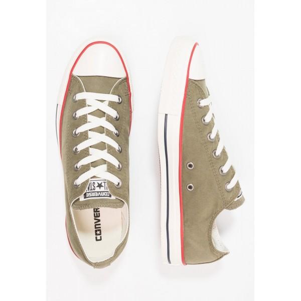 Damen / Herren Converse CHUCK TAYLOR ALL STAR OMBRE WASH - OX - Schuhe Low - Mittel Olivgrün/Reiher Weiss/Weiß