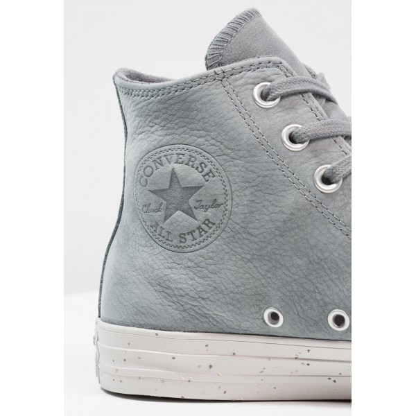 Damen / Herren Converse CHUCK TAYLOR ALL STAR NUBUCK - HI - Sportschuhe Hoch - Cool Grau/Pale Putty/Weiß