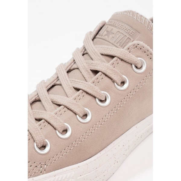 Damen / Herren Converse CHUCK TAYLOR ALL STAR NUBUCK - OX - Sportschuhe Low - Rauchgrau/Pale Putty/Weiß