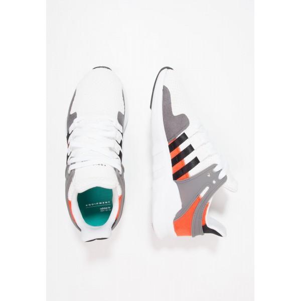 Damen / Herren Adidas Originals EQT SUPPORT ADV - Sportschuhe Low - Weiß/Anthrazit Schwarz/Core Black/Grau/Neon Orange