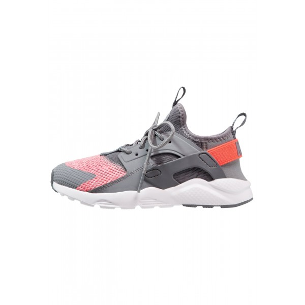 Kinder Nike Footwear Für Sport HUARACHE RUN ULTRA SE (PS) - Turnschuhe Low - Cool Grau/Mittelgrau/Hot Punch/Rein Platin