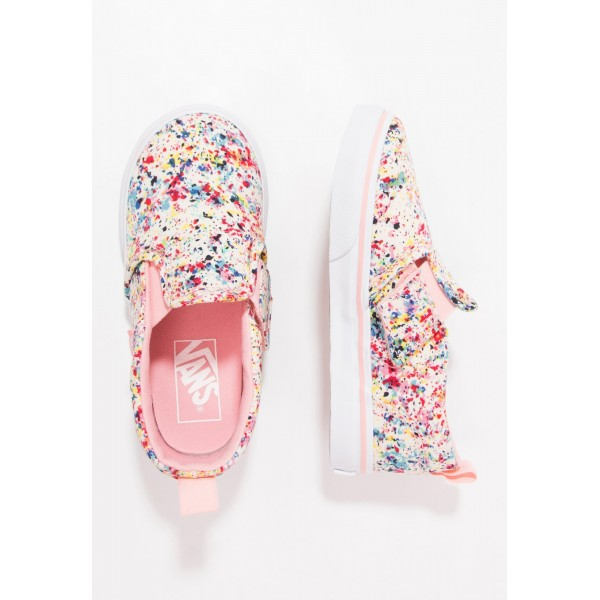 Kinder Vans ASHER - Schuhe Low - Multicolor/Coral ...