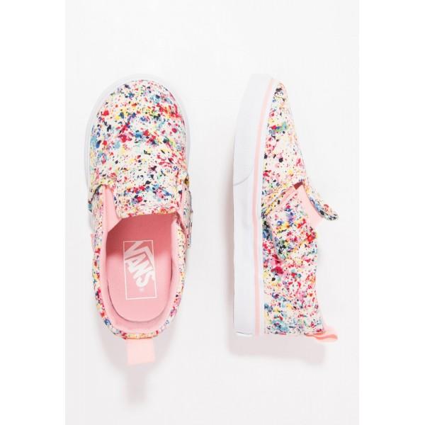 Kinder Vans ASHER - Schuhe Low - Multicolor/Coral ...