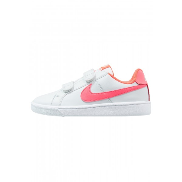 Kinder Nike Footwear Für Sport COURT ROYALE (PSV) - Trainingsschuhe Low - Rein Platin/Hot Punch/Weiß