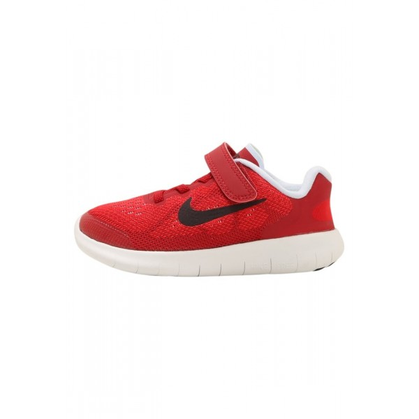 Kinder Nike Performance FREE RUN 2 - Sportschuhe Low - Rot/Schokolade/Weiß