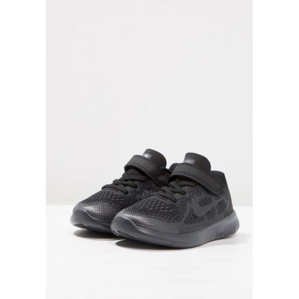 Kinder Nike Performance FREE RUN 2 - Sportschuhe Für Natural Running - Anthrazit Grau/Anthrazit Schwarz