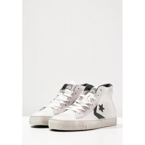 Damen / Herren Converse CONS PRO - Fitness Footwear Hoch - Weiß/Schwarz/Yeezy