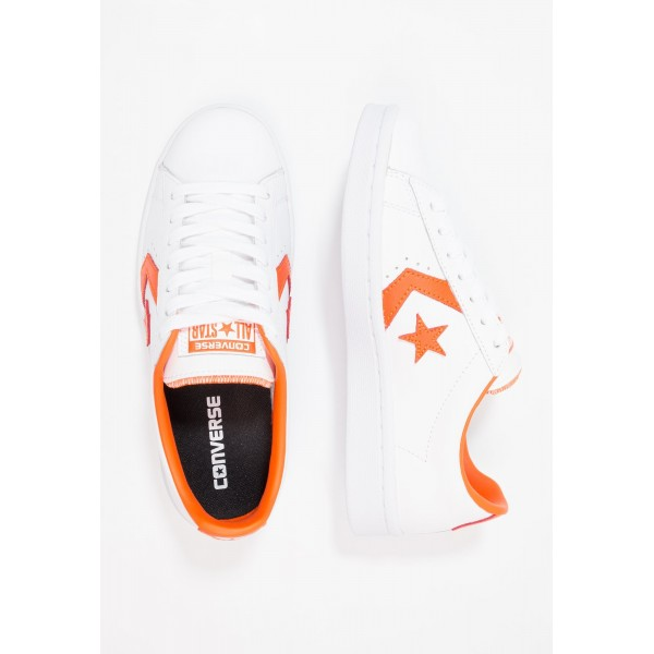 Damen / Herren Converse PL 76 ELEVATED - OX - Sportschuhe Low - Weiß/Mango Orange