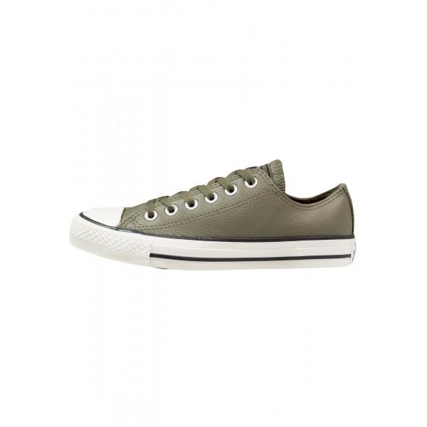 Damen / Herren Converse Schuhe Low - Mittel Oliv/Reiher Weiss/Schwarz