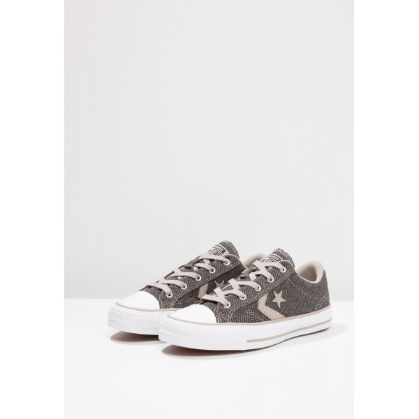 Damen / Herren Converse STAR PLAYER HERRINGBONE - OX - Trainingsschuhe Low - Beige/Weiß/Schwarz