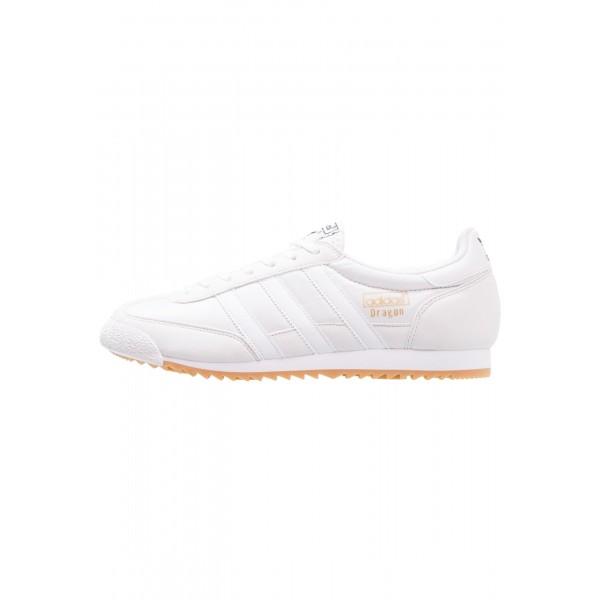 Damen / Herren Adidas Originals DRAGON OG - Sportschuhe Low - All Weiss