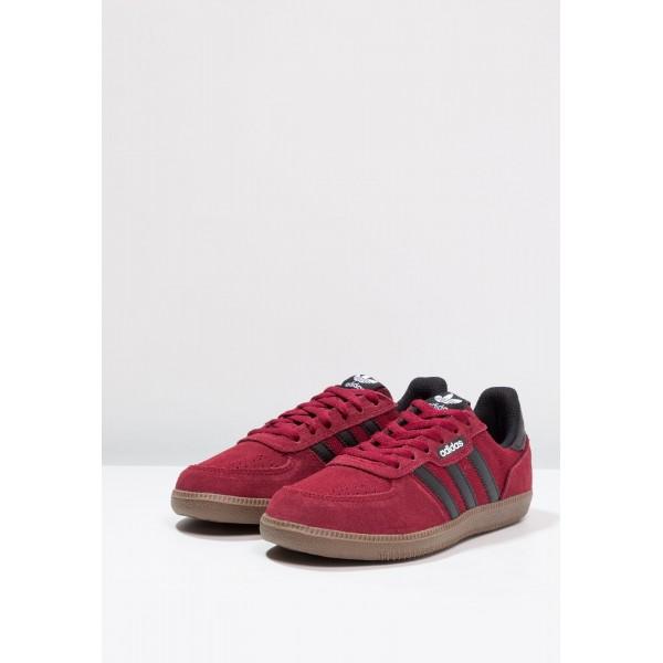 Damen / Herren Adidas Originals LEONERO - Sportschuhe Low - Burgund Rot/Maroon/Schokolade