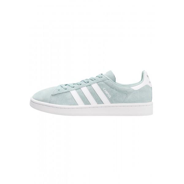 Damen / Herren Adidas Originals CAMPUS - Schuhe Low - Mintgrün/Schneeweiß