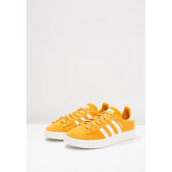 Damen / Herren Adidas Originals CAMPUS - Fitnessschuhe Low - Mango Gelb/Weiß/Footwear Weiß/Wolken Weiß