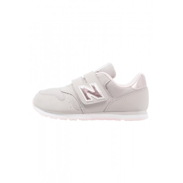 Kinder New Balance Schuhe Low - Cool Grau/Hellrosa