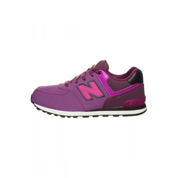 Kinder New Balance KL574-YEP-M - Schuhe Low - Fuch...