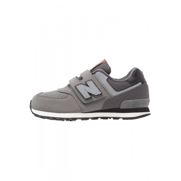 Kinder New Balance Schuhe Low - Dunkelgrau/Metall ...