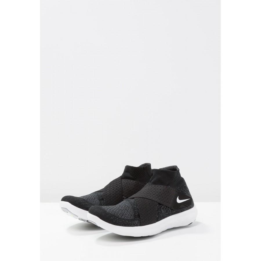 Nike Free RN Motion Flyknit 2017 Laufschuhe für Damen Grau