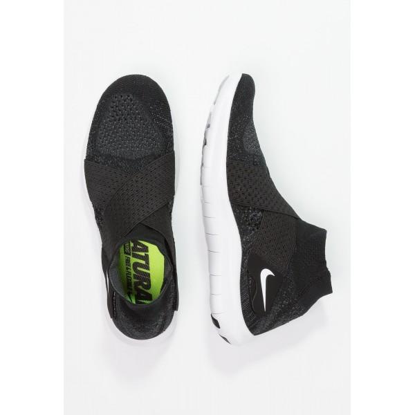 Damen / Herren Nike Performance FREE RUN MOTION FLYKNIT 2017 - Sportschuhe Low - Anthrazit Schwarz/Dunkelgrau/Wolf Grau/Weiß