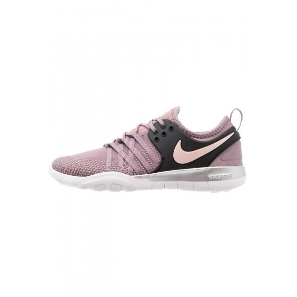 Damen / Herren Nike Performance FREE TR 7 BIONIC - Training Schuhe - Rosy/Kohlen Schwarz/Sunset Tint/Weiß