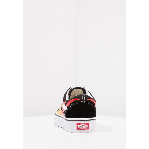 Damen / Herren Vans OLD SKOOL - Trainingsschuhe Low - Schwarz/True Weiß/Multicolor