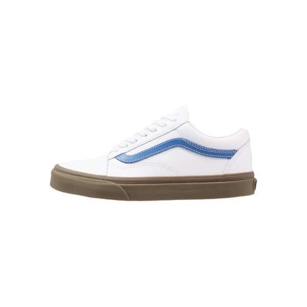 Damen / Herren Vans OLD SKOOL - Sneaker Low - True Weiß/Delft Blau