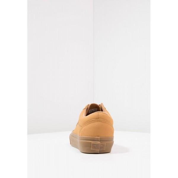 Damen / Herren Vans OLD SKOOL - Schuhe Low - Tan/Camel Braun