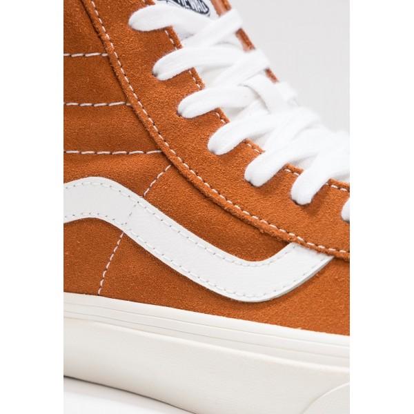 Damen / Herren Vans SK8 REISSUE - Freizeitschuhe Hoch - Glazed Ginger/Orange