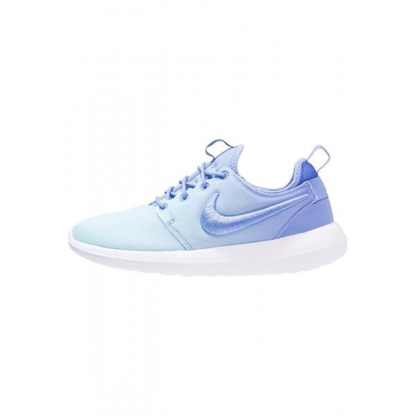 Damen Nike Footwear Für Sport ROSHE TWO BR - Schuhe Low - Polarized Blue/Still Blue/Weiß/Gletscher Blau/Hell Eisblau