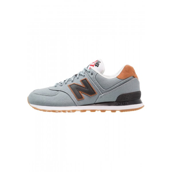 Damen New Balance ML574 Sneaker low - Schiefer/hel...