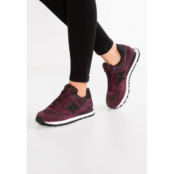 New Balance WL574 Sneaker Low für Damen - Bordeau...