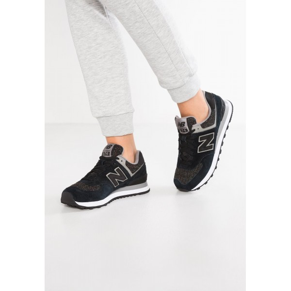 New Balance WL574 Sneaker Low für Damen - Lila sc...