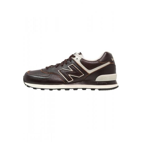 New Balance WL574 Leder Sneaker Low für Frauen - ...