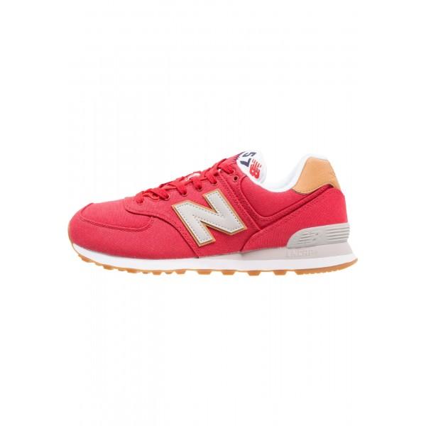 Damen New Balance ML574 Sneaker low - Aktion rot/B...