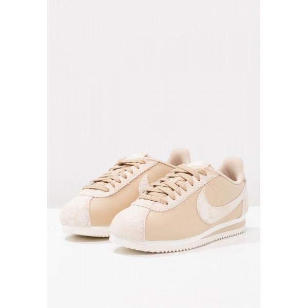 Damen Nike Footwear Für Sport CLASSIC CORTEZ PRM - Sportschuhe Low - Sail/Beige/Weiß