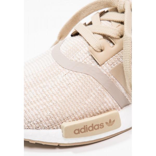 Damen / Herren Adidas Originals NMD_R1 PK - Schuhe Low - Linen Khaki/Floral Weiß