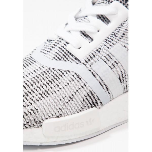 Damen / Herren Adidas Originals NMD_R1 PK - Trainingsschuhe Low - Weiß/Anthrazit Schwarz/Core Black