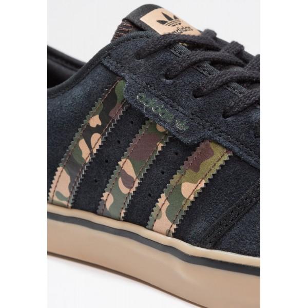 Damen / Herren Adidas Originals SEELEY - Sportschuhe Low - Anthrazit Schwarz/Camouflage