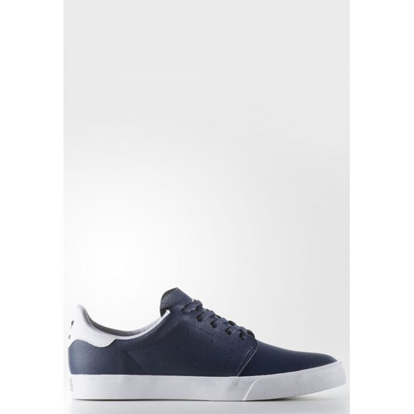 Damen / Herren Adidas Originals Trainingsschuhe Low - Dunkelmarine Blau/Weiß