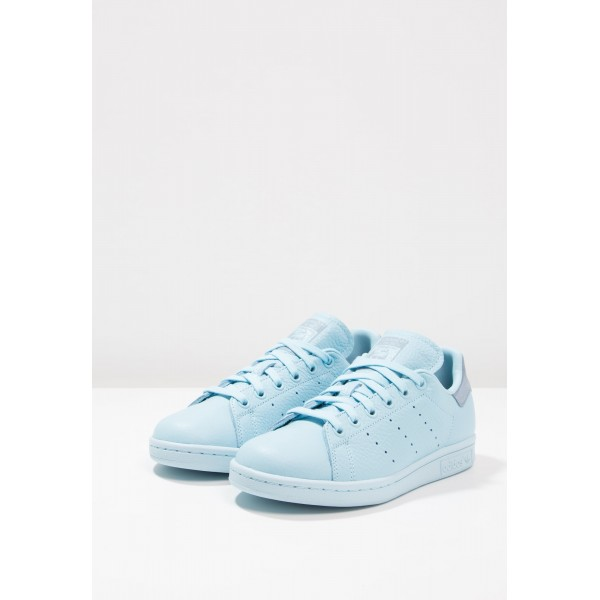 Damen / Herren Adidas Originals STAN SMITH - Schuhe Low - Eisblau/Tactile Blau/Silbergrau