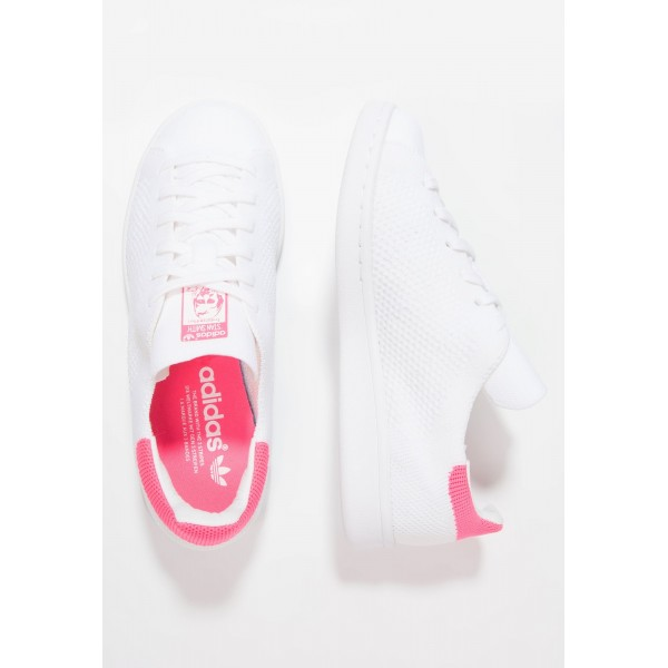 Damen / Herren Adidas Originals STAN SMITH PK - Sportschuhe Low - Weiß/Footwear Weiß/Rose Pink