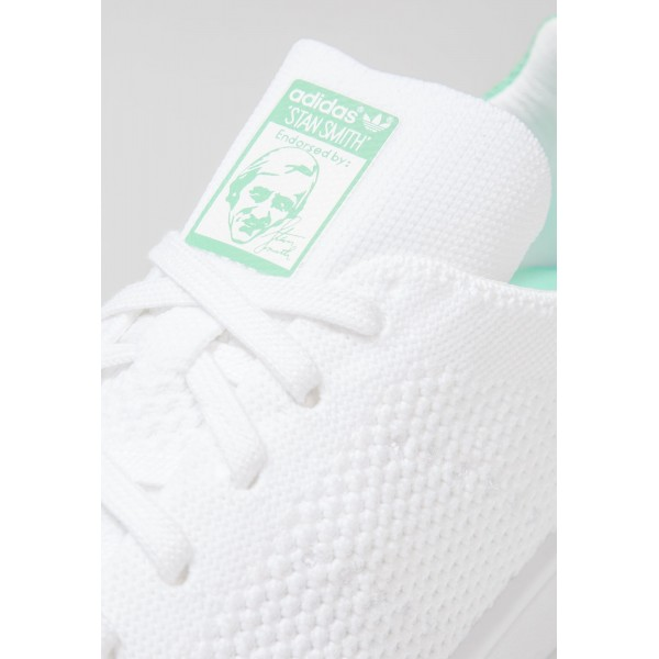 Damen / Herren Adidas Originals STAN SMITH PK - Fitnessschuhe Low - Weiß/Mintgrün