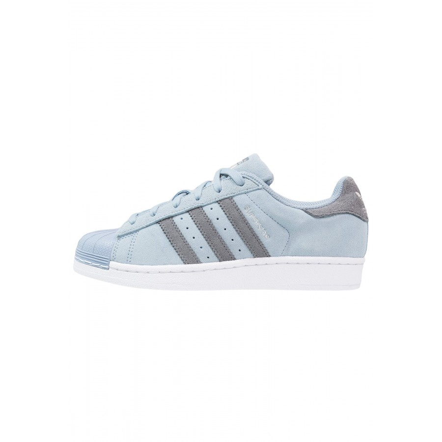 Adidas Originals Jeans Weiss Blau Herren Sneaker Low