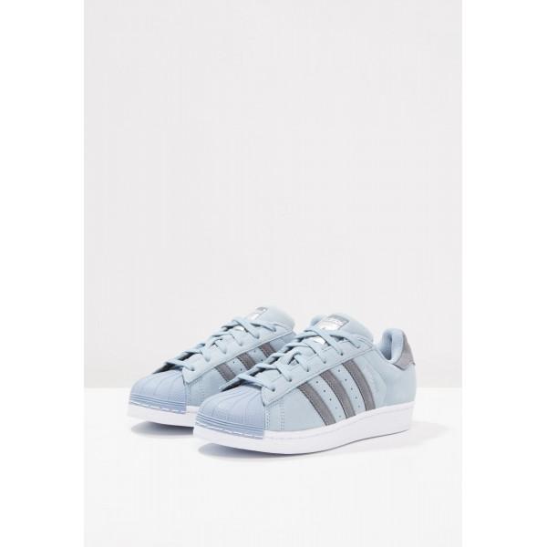 Damen / Herren Adidas Originals SUPERSTAR - Trainingsschuhe Low - Tactile Blau/Hellblau/Dunkelgrau